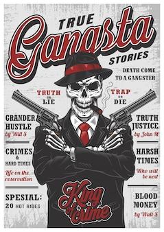 Gangsta skelet tijdschrift