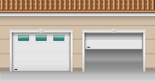 Garage hefpoorten
