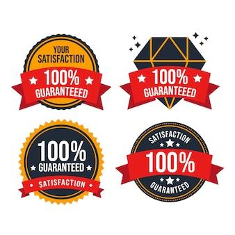 Garantie badge-collectie