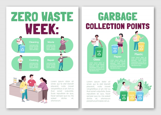 Garbage collection brochure