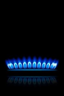 Gas in het donker