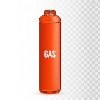Gasfles, tank, ballon, propaanhouder.