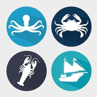 Gastronomie op zee