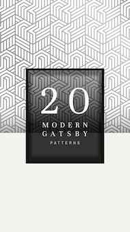 Gatsby patroon banner