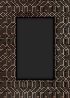 Gatsby patroon frame