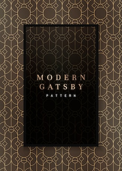 Gatsby patroon frame