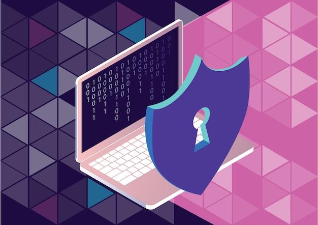 Gdpr algemene regels voor gegevensbeschermingsconcept