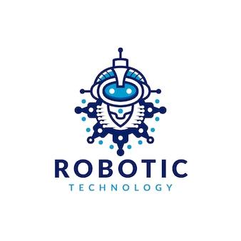 Gear robot-logo