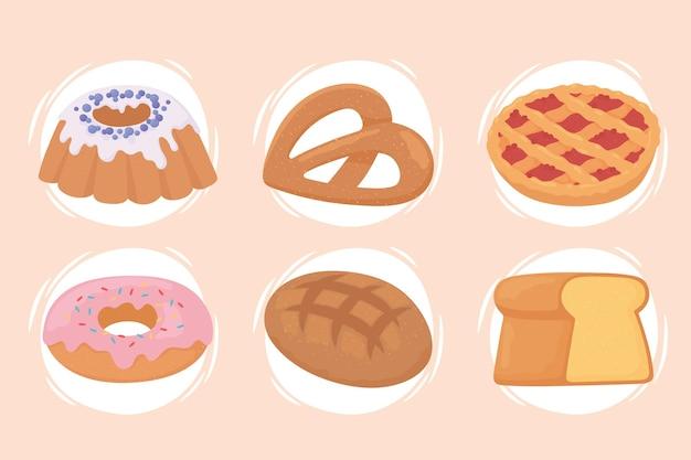Gebakken en dessertproducten