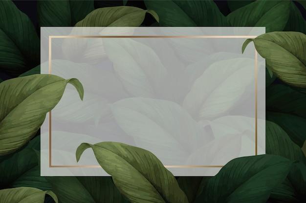 Gebladerte achtergrond sjabloon