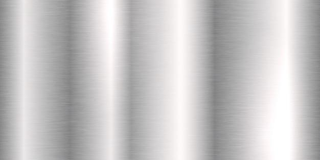 Geborsteld blank metaal