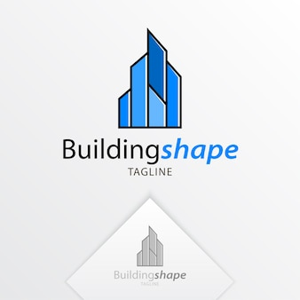 Gebouwen logo ontwerp