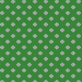 Gebreide dot patroon textuur ontwerp.