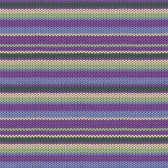 Gebreide textuur naadloos patroon. decoratief