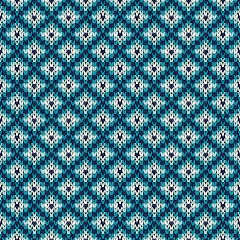 Gebreide trui patroon. naadloze achtergrond. wol gebreide textuur imitatie