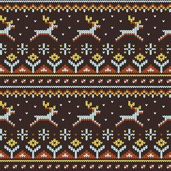 Gebreide trui patroon