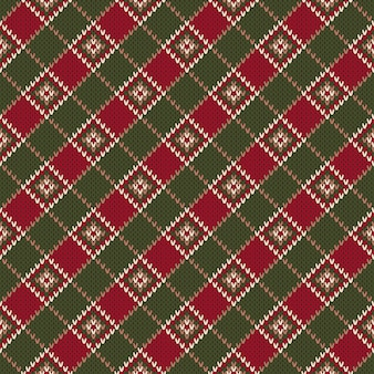 Gebreide wollen trui design. regeling voor gebreide trui patroon ontwerp of kruissteek borduren.