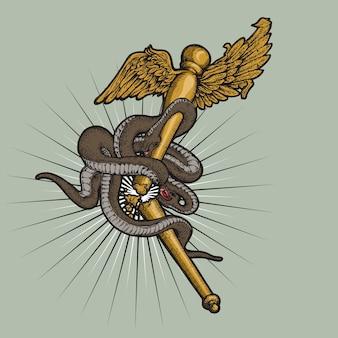 Gebroken grieks symbool