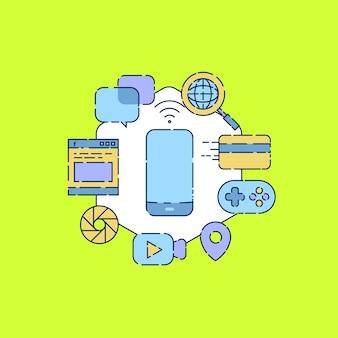 Gebruik van mobiele telefoon