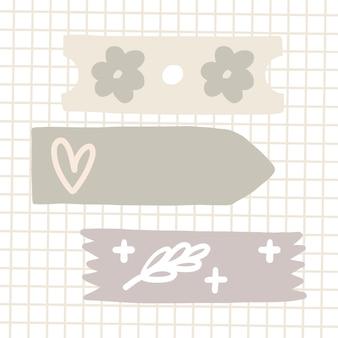 Gedessineerde plakband
