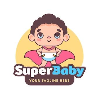 Gedetailleerd babylogo