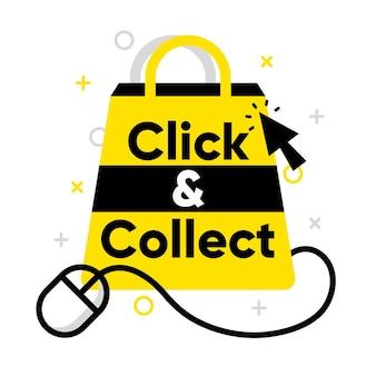 Gedetailleerd creatief klik- en verzamelbord