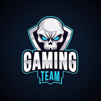 Gedetailleerd esports gaming-logo