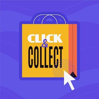 Gedetailleerd klik- en verzamelbord