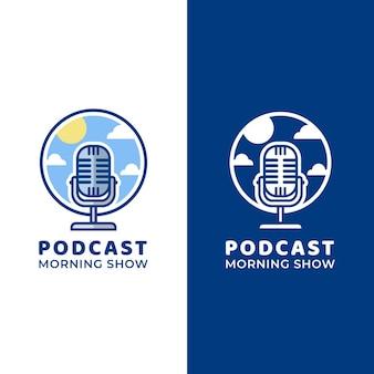 Gedetailleerd podcastlogo