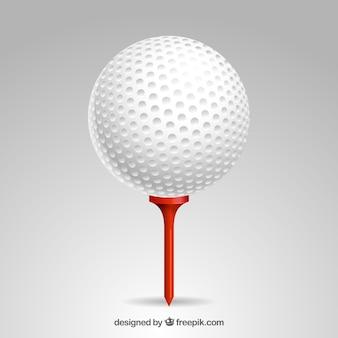 Gedetailleerde golfbal
