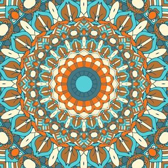 Gedetailleerde mandala ontwerp achtergrond