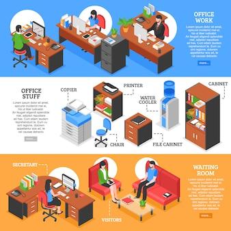 Gedetailleerde spullen voor office-spullen