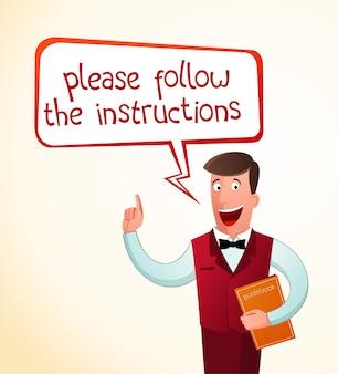 Geef een instructie