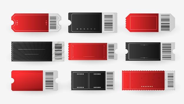 Geef één set film bioscoopkaartjes toe