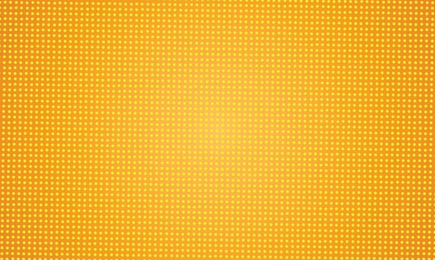 Geel abstract gestippeld ontwerp als achtergrond