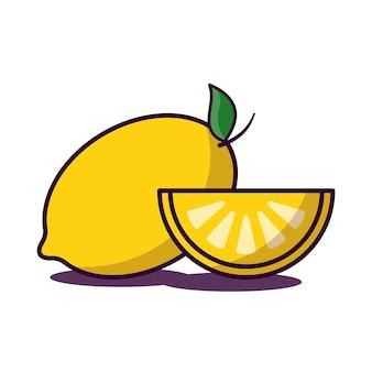 Geel citroenfruit