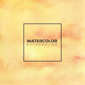 Geel oranje abstracte aquarel achtergrond voor texturen achtergronden