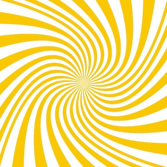 Geel spiraal achtergrond ontwerp