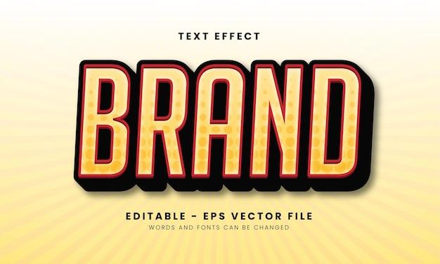 Geel textuurmerk teksteffect