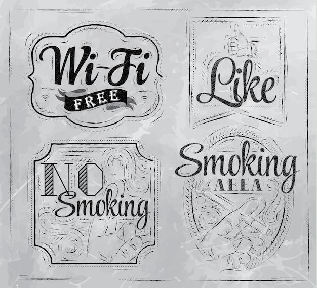 Geen rooktekens instellen
