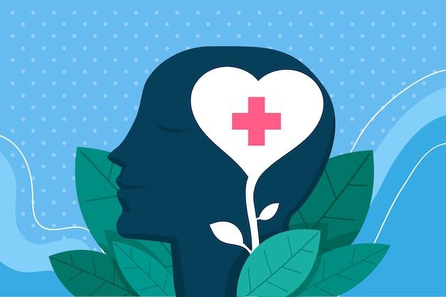 Geestelijke gezondheid awarness concept