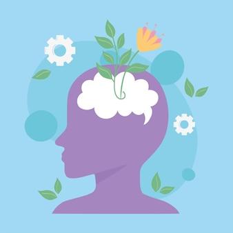 Geestelijke gezondheid goede mentaliteit