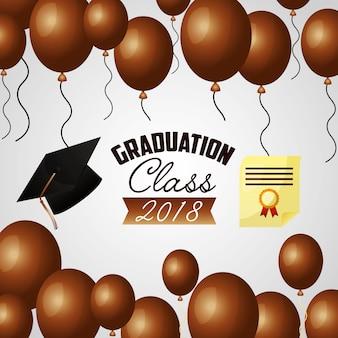 Gefeliciteerd afstuderenkaart