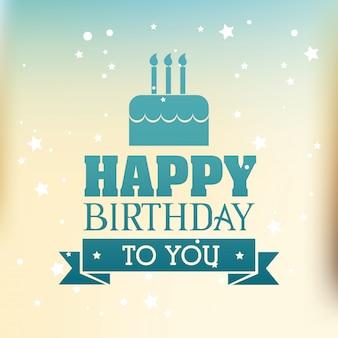 Gefeliciteerd met je verjaardag.