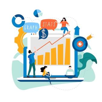 Gegevensanalyse en beoordeling van bedrijfsgegevens