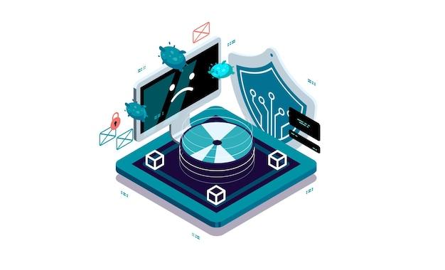 Gegevensbescherming, gegevensherstel vanaf schijf. hulpprogramma's voor geheugenherstel.