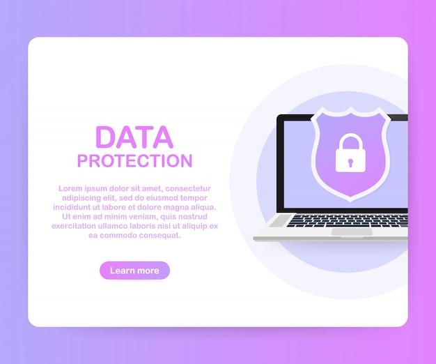 Gegevensbescherming, privacy en internetbeveiliging.