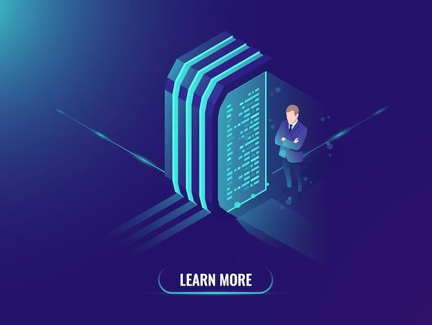 Gegevensverwerking en informatiebeheer, data science-concept