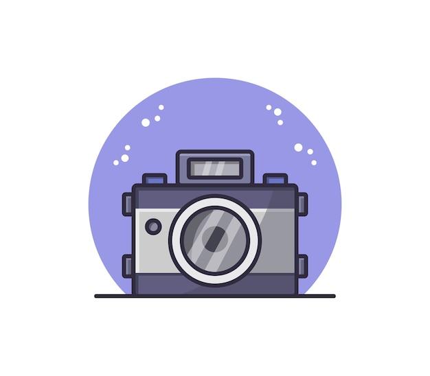 Geïllustreerde camera
