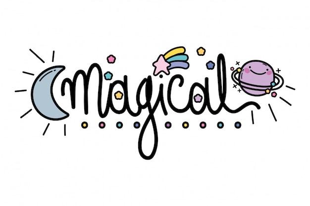 Geïsoleerd magisch woord